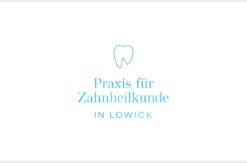 Praxis Zahnarzt Logo Lowick