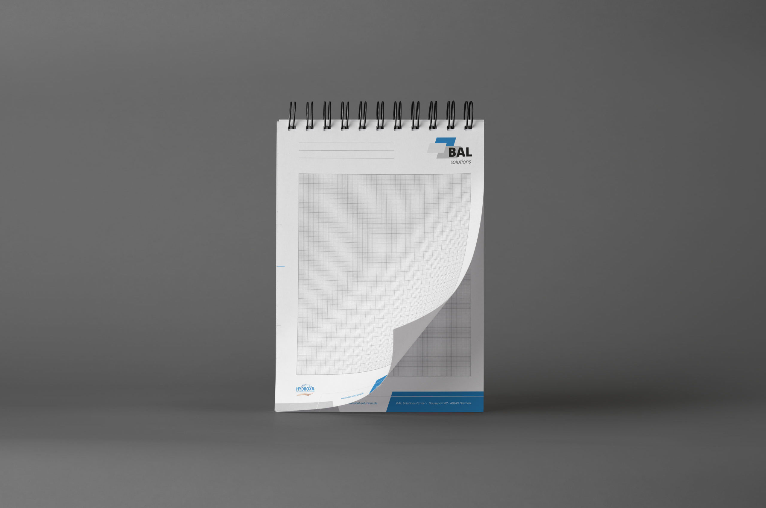 Corporate Design Block BAL solutions