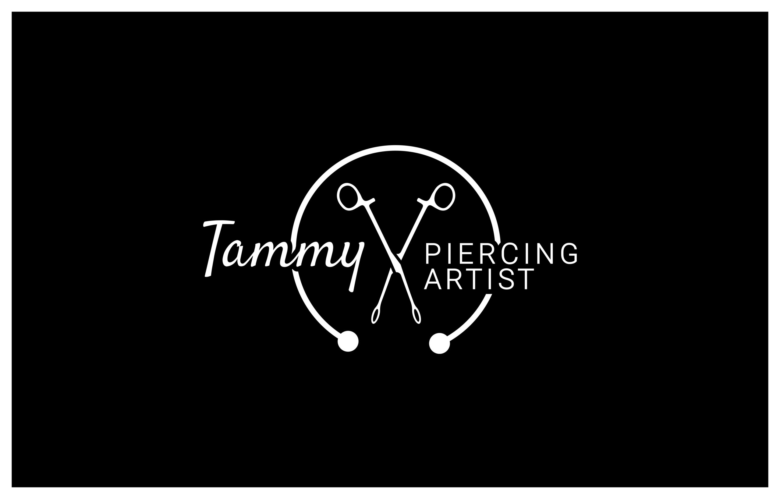 Redesign Tammy Piercing Artist Logo neu